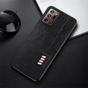 Luxury Business Leather Texture Cases For Samsung Galaxy Note Series
