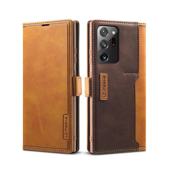 Luxury Leather Flip Magnetic Case For Samsung Galaxy Note Series(Buy 2 Get 10% OFF, Buy3 Get 15% OFF)