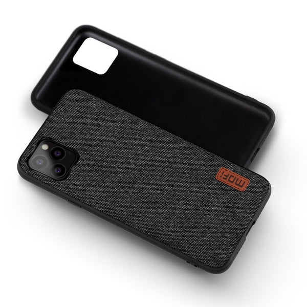 Original Fabric Shockproof Silicone Case for iPhone