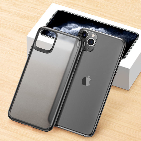 Fashion Shockproof Transparent Matte Case for iPhone