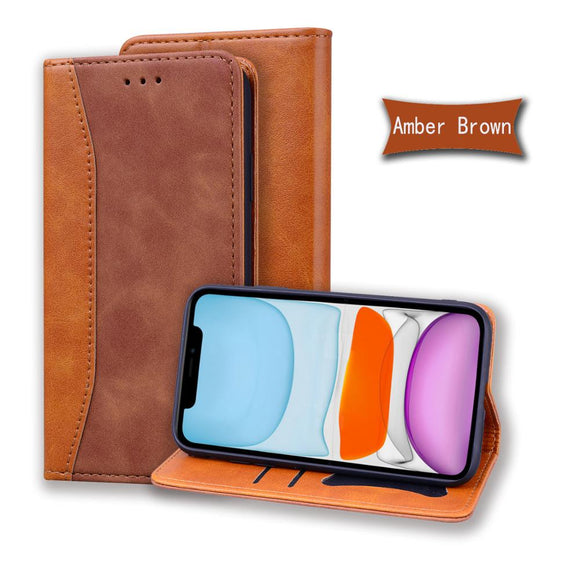 New Magnet PU Leather Wallet Case For iPhone