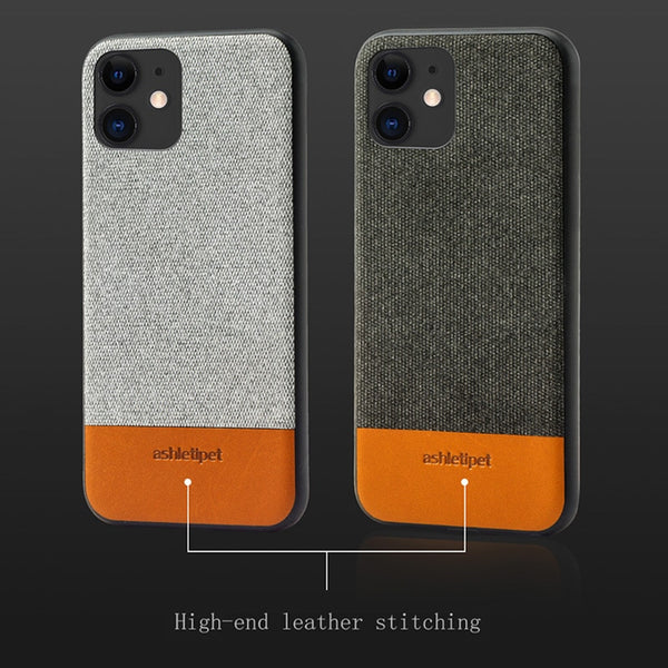Business Fabric Magnetic Case for iPhone