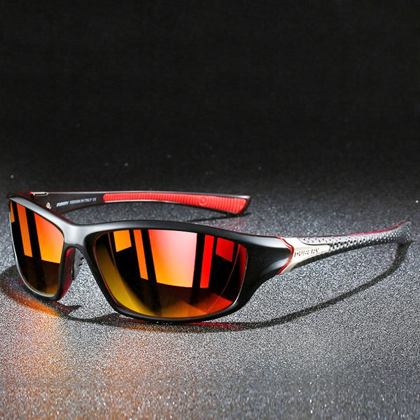 Men Polarized Colorful TAC Mirror UV400 Goggles
