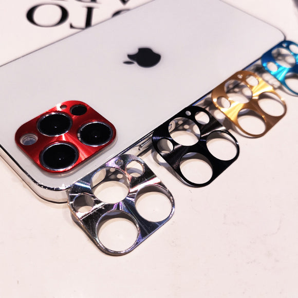 Coloful Metal Protective Camera Lens Protector For iPhone