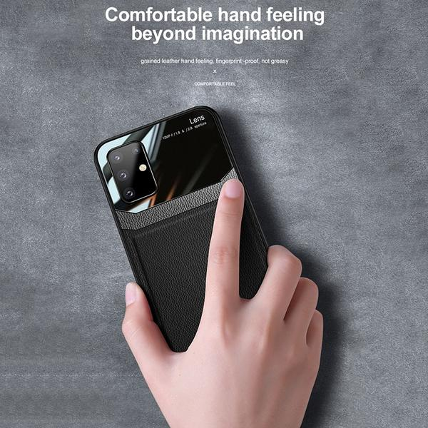 Shockproof PU Leather Tempered Glass With Stand Case for Samsung Galaxy S20(Buy 2 Get 10% OFF,Buy3 Get 15% OFF)
