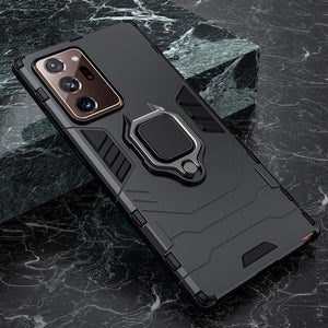 Shockproof Armor Silicone Case for Samsung Note with Stand