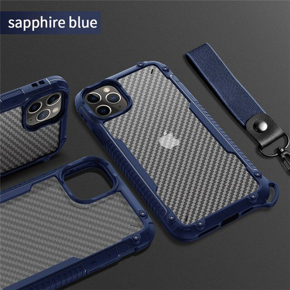 Shockproof Bumper Armor Clear Case For iPhone 12