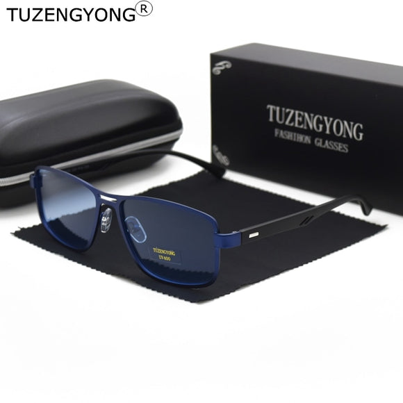 Men's Alloy+TR90 Frame Driving Polarized Sunglasses