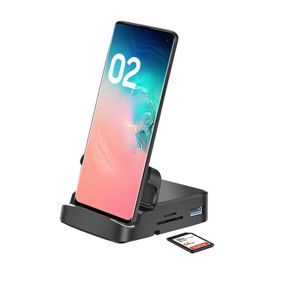 USB C HUB Wireless Charger Dex Station for Samsung Galaxy S/Note