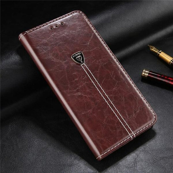Vintage Wallet Card Slots Case For iPhone