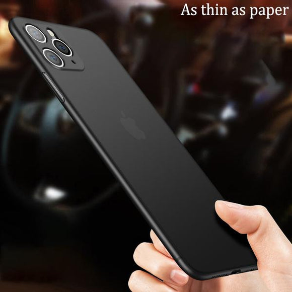 Ultra-Thin Matte PC Case For iPhone