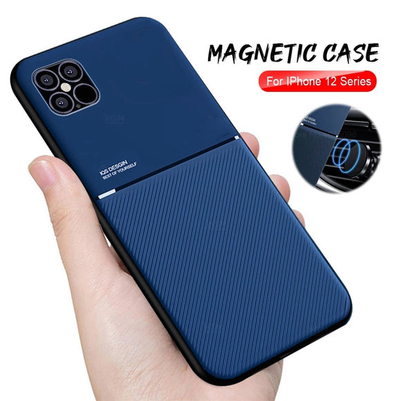 Hot Selling Anti-Shock Magnet TPU Case For iPhone 12/11