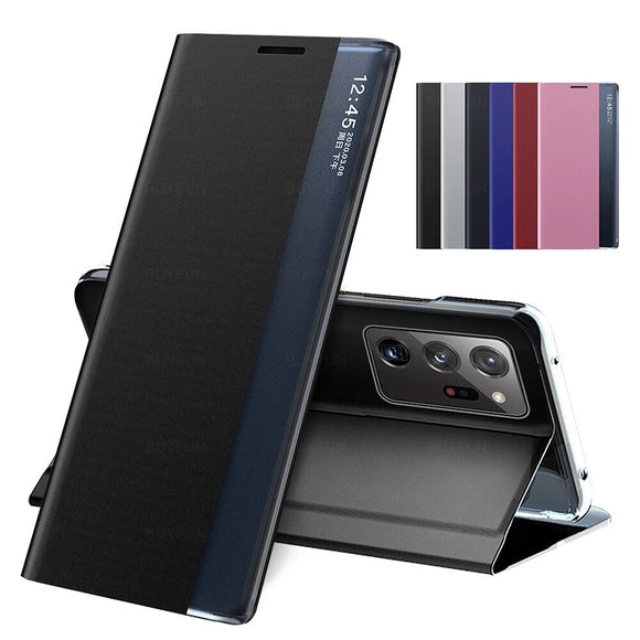 Magnetic Smart PU Leather Book Covers for Samsung Galaxy Note 20