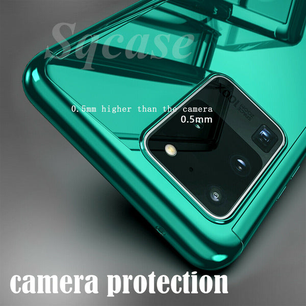 Full Body Plating Mirror Case For Samsung Galaxy S20/20Plus/20Ultra/S10