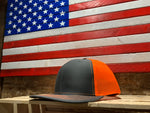 American Flag SADDLE HUNTER SILHOUETTE Mesh Snap Back Hat