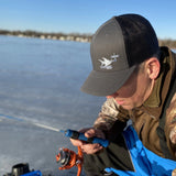 HARDWATER FISHING Mesh Snap Back Hat