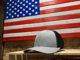 State WHITETAIL TRACKS SILHOUETTE Mesh Snap Back Hat