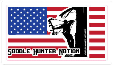 """Saddle Hunter Nation"" Vinyl Decals"