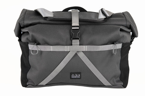 Borough Bag Rolltop in Dark Grey