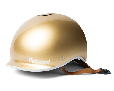 Thousand Fahrradhelm in Gold