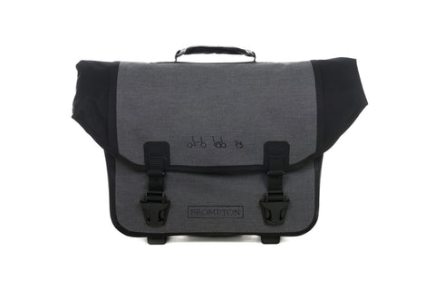 NEU! Brompton O-Bag in Grey
