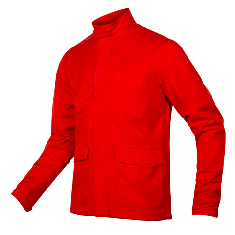 London Waterproof Jacket Red