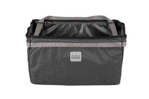 NEW Borough Basket Bag Dark Grey