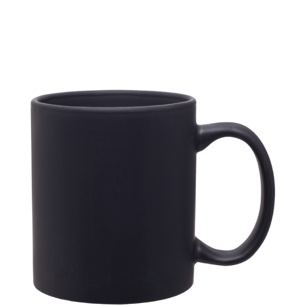 COLOR CHANGING Matte Black Magic Strange Party Mug