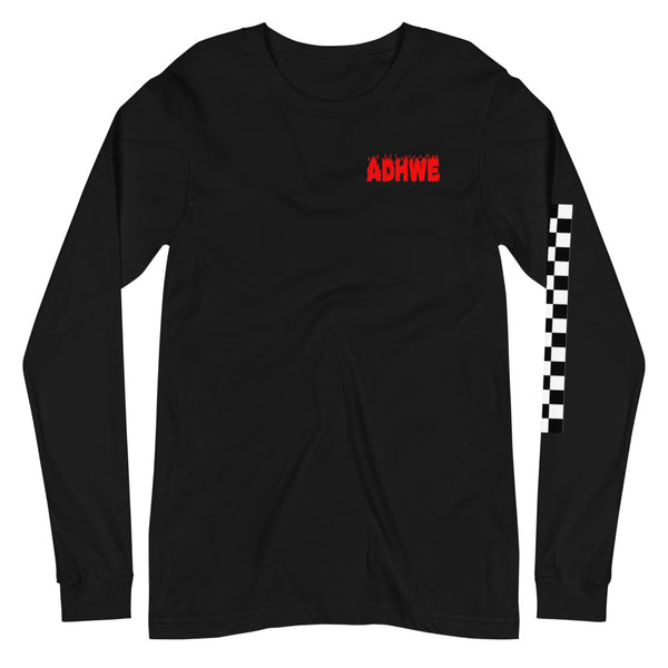 Checker that out Long Sleeve Tee