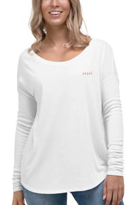 Ladies' Long Sleeve Tee - ADHWÉ Etch