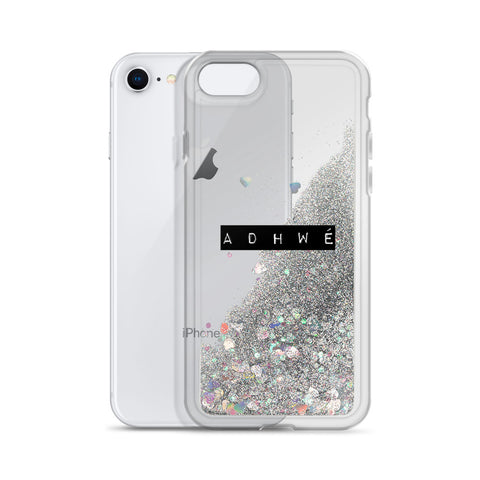 Liquid Glitter ADHWÉ iPhone Case