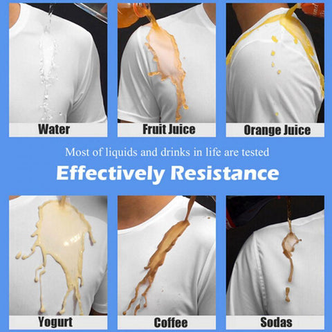 Anti-Dirty Waterproof Men T Shirt