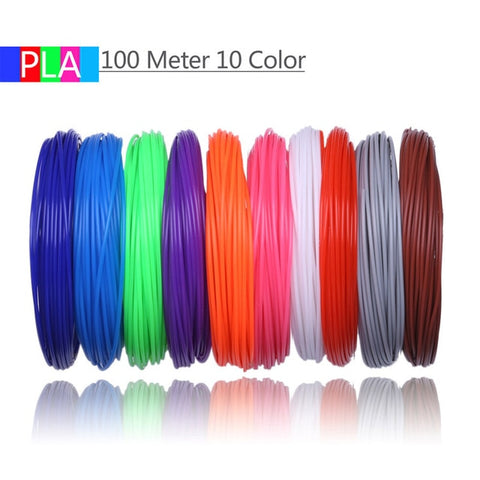 3D Pen PLA Filament 200 Meters 20 Colors 1.75MM Threads