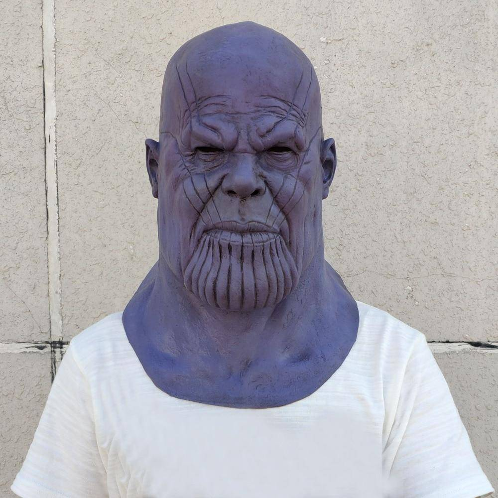 Deluxe Thanos Mask - Copa-Wax