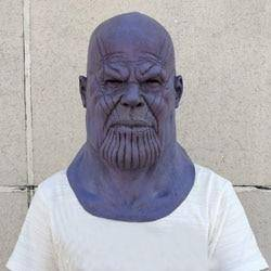 Image of Deluxe Thanos Mask - Copa-Wax