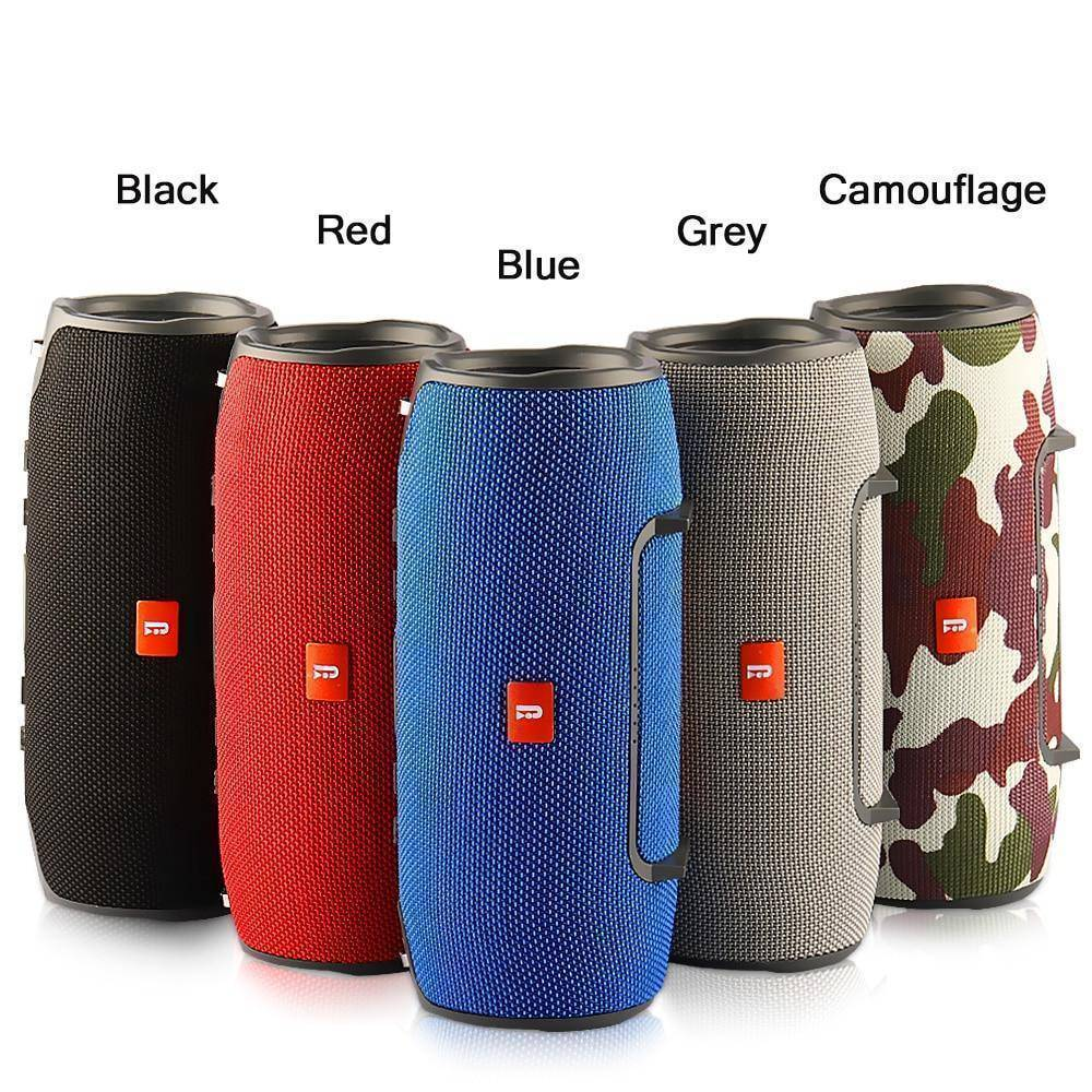 Portable Column Wireless Bluetooth Powerful Speaker - Copa-Wax