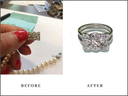 Jeanne Custom Designed Heirloom Jewelry by Susanne Siegel.