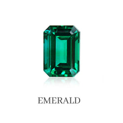 Emerald Custom Designed Heirloom Jewelry by Susanne Siegel.