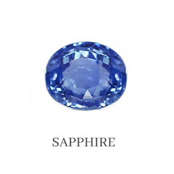 Sapphire Custom Designed Heirloom Jewelry by Susanne Siegel.