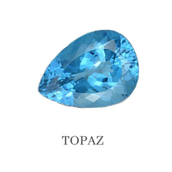 Topaz Custom Designed Heirloom Jewelry by Susanne Siegel.
