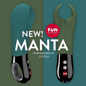 NEW!! Fun Factory Manta