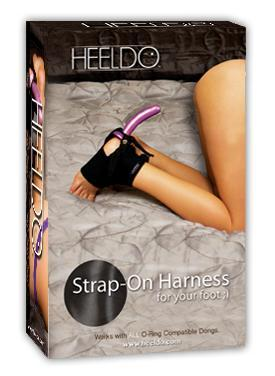 Heeldo Foot Harness Hers S-m Black