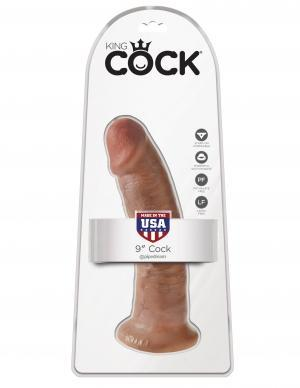 Pipedream Products Dildos King Cock 9 Cock Tan ""