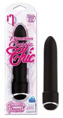 California Exotic Novelties Sextoys for Women 7 Function Classic Chic 4in Black
