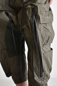 Military Sarrouel Wide Pants