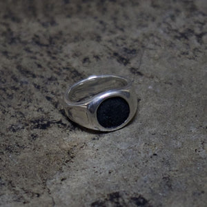 Leather Jewel Ring