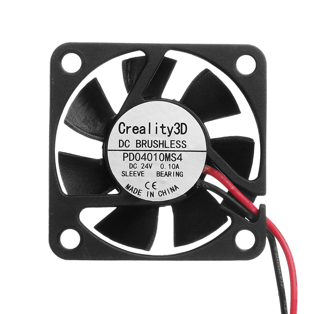 Creality Nozzle Cooling Fan 24V /0.10A High Speed DC Brushless for Ender-3 /Ender-3 Pro