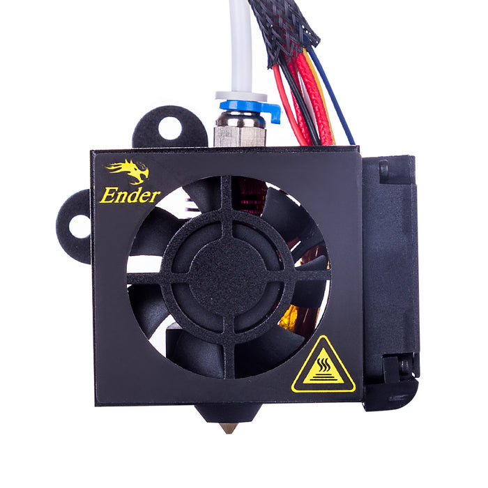 Creality Ender 5 Plus Fully Assembled Extruder Hot End Kit with Aluminum Heating Block 0.4mm Nozzle