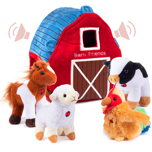 Talking Plush Barn Friends