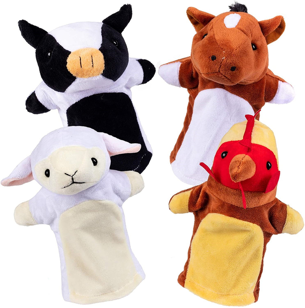 Hand Puppet Barn Friends